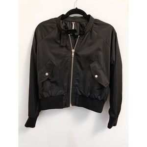 Free People bomber jacket xs